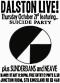 suicidepartydalstonlive
