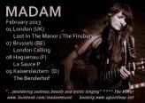 Madam February 2013